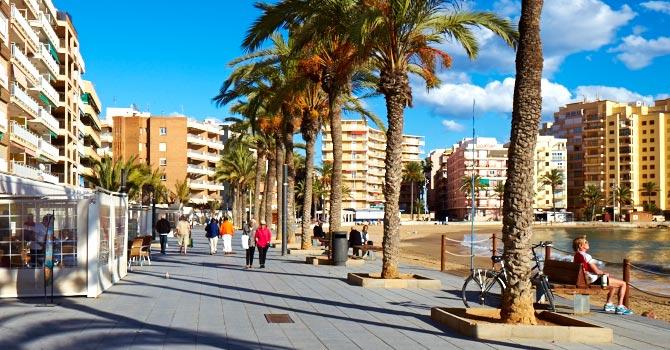 Playa El Cura Torrevieja City Centre